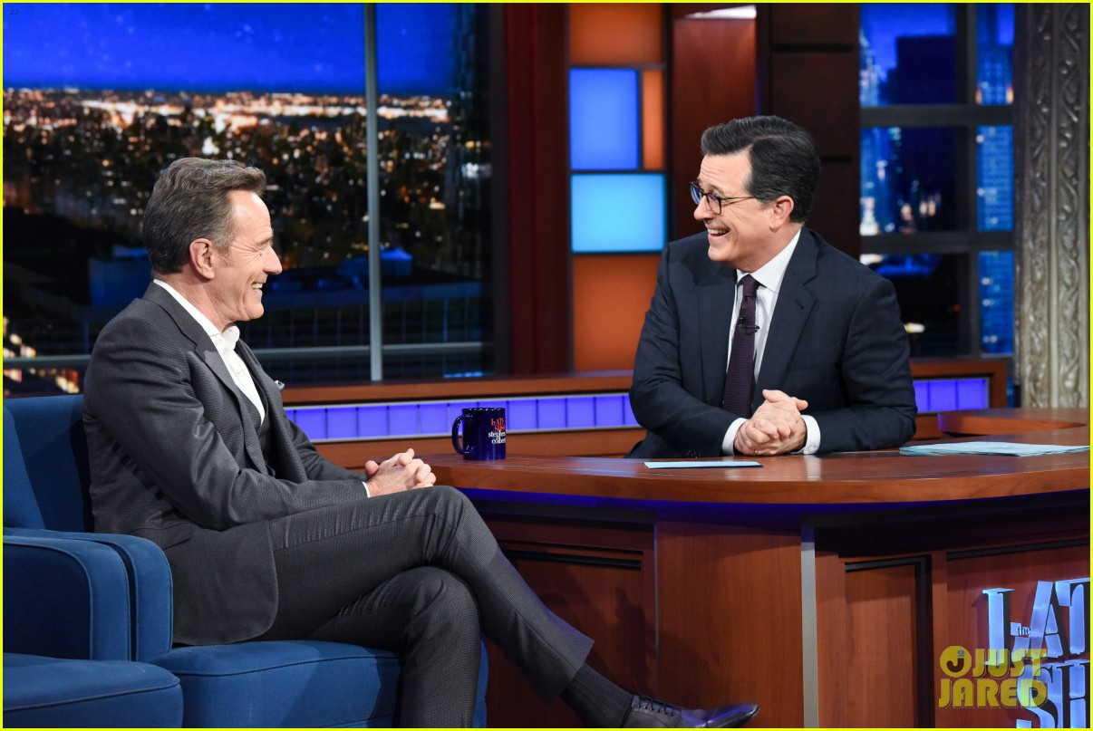 bryan cranston reveals what makes him mad as hell on the late show 01