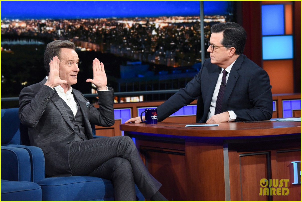 bryan cranston reveals what makes him mad as hell on the late show 02