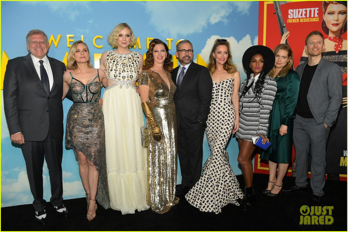 steve carell joins welcome to marwen cast at premiere 064196952
