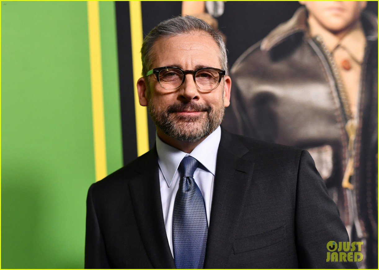 steve carell joins welcome to marwen cast at premiere 14