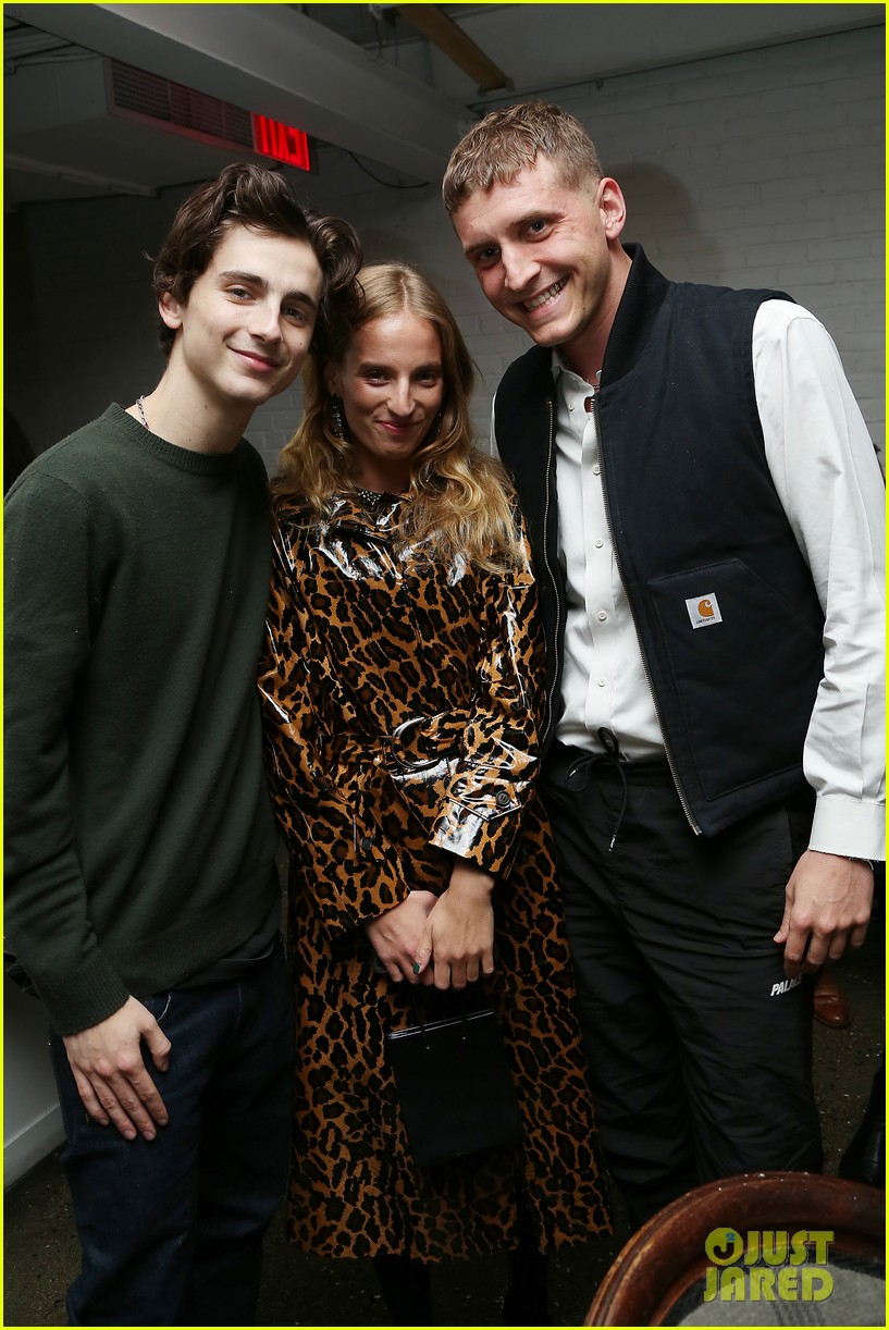 timothee chalamet attends beautiful boy reception with nic sheff 08
