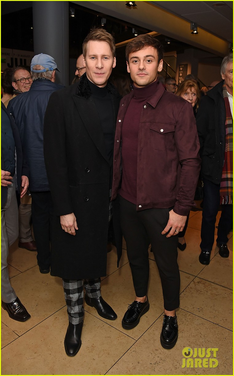 tom daley dustin lance black couple up at swan lake vip performance 01