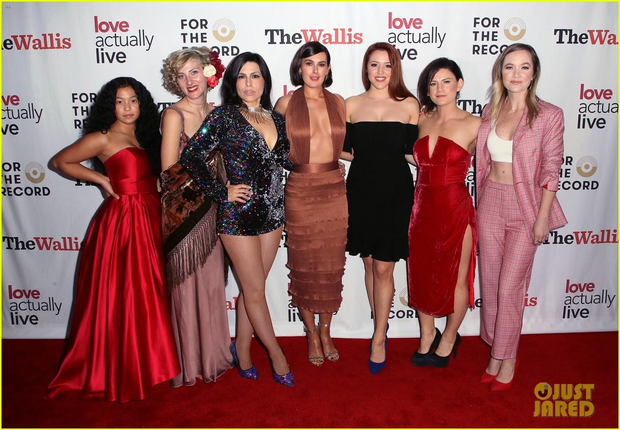jenna dewan supports boyfriend steve kazee at love actually live opening night 11