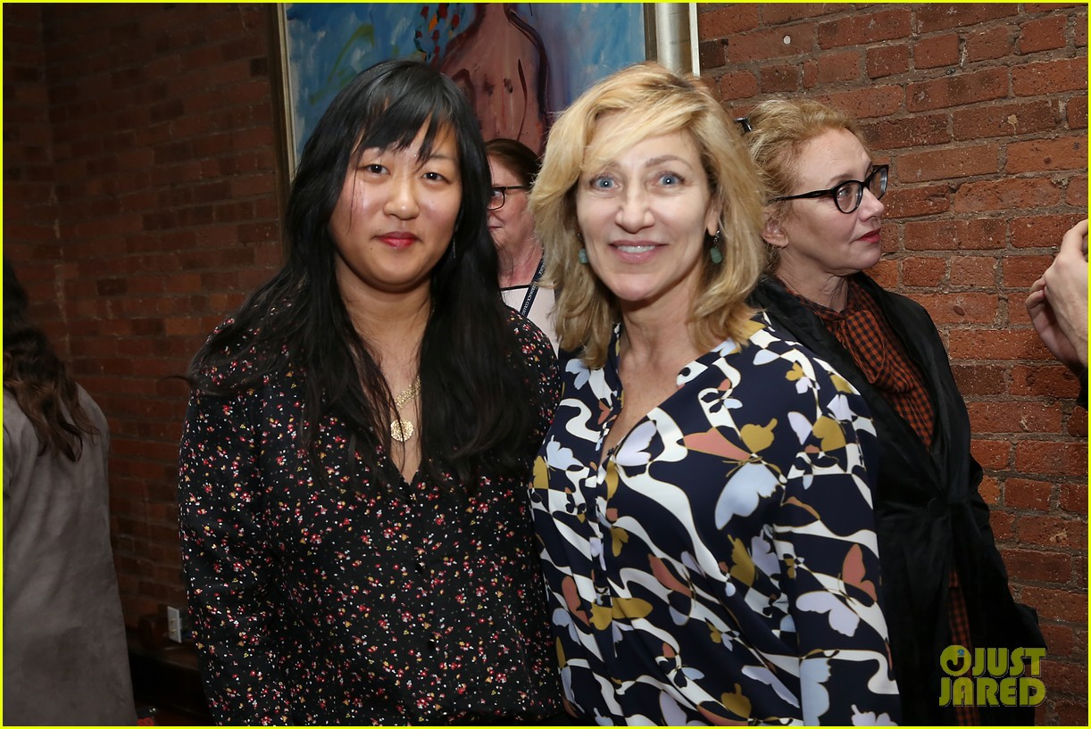 edie falco supports nancy cast at special nyc screening 044199442