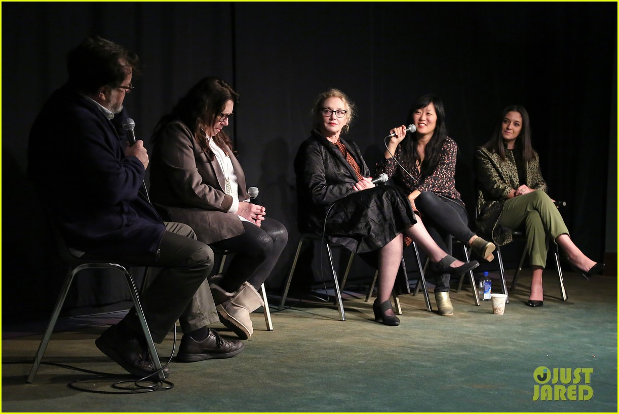 edie falco supports nancy cast at special nyc screening 054199443