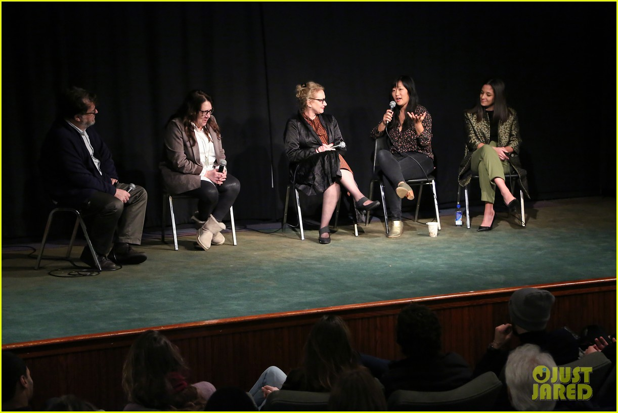 edie falco supports nancy cast at special nyc screening 074199445