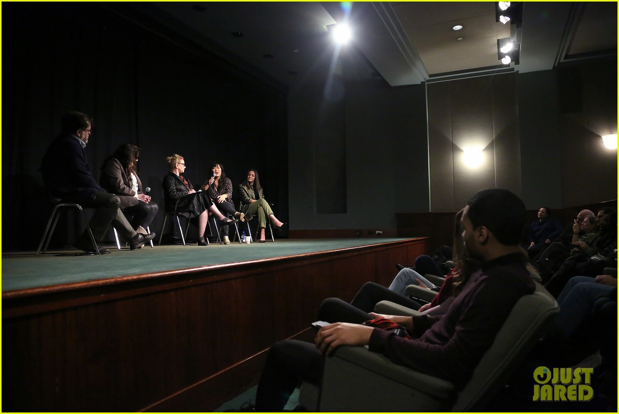 edie falco supports nancy cast at special nyc screening 084199446