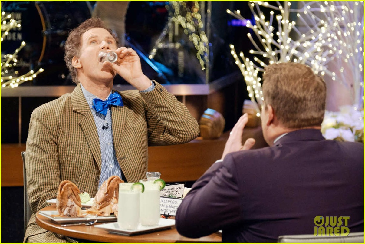 will ferrell avoids answering all questions on spill your guts or fill your guts 05