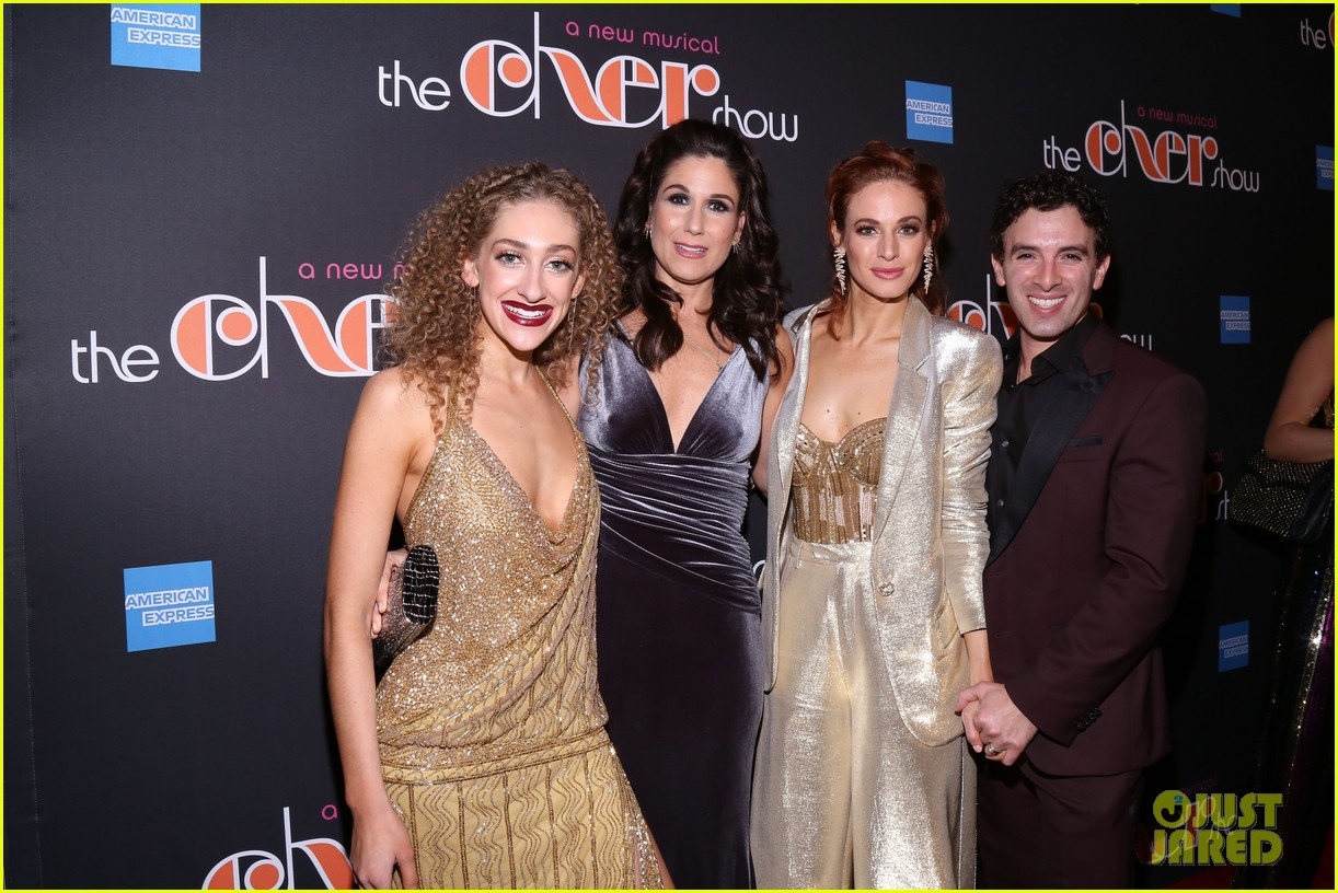 tina fey adam rippon rosie odonnell more support the cher show broadway opening 094192630
