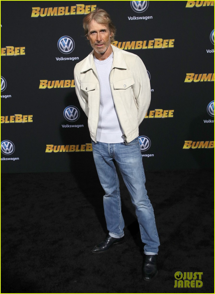 hailee steinfeld john cena attend hollywood premiere of bumblebee 054196166