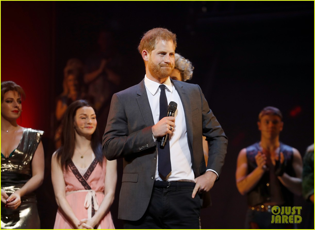 prince harry attends bat out of hell musical performance in london 034194662