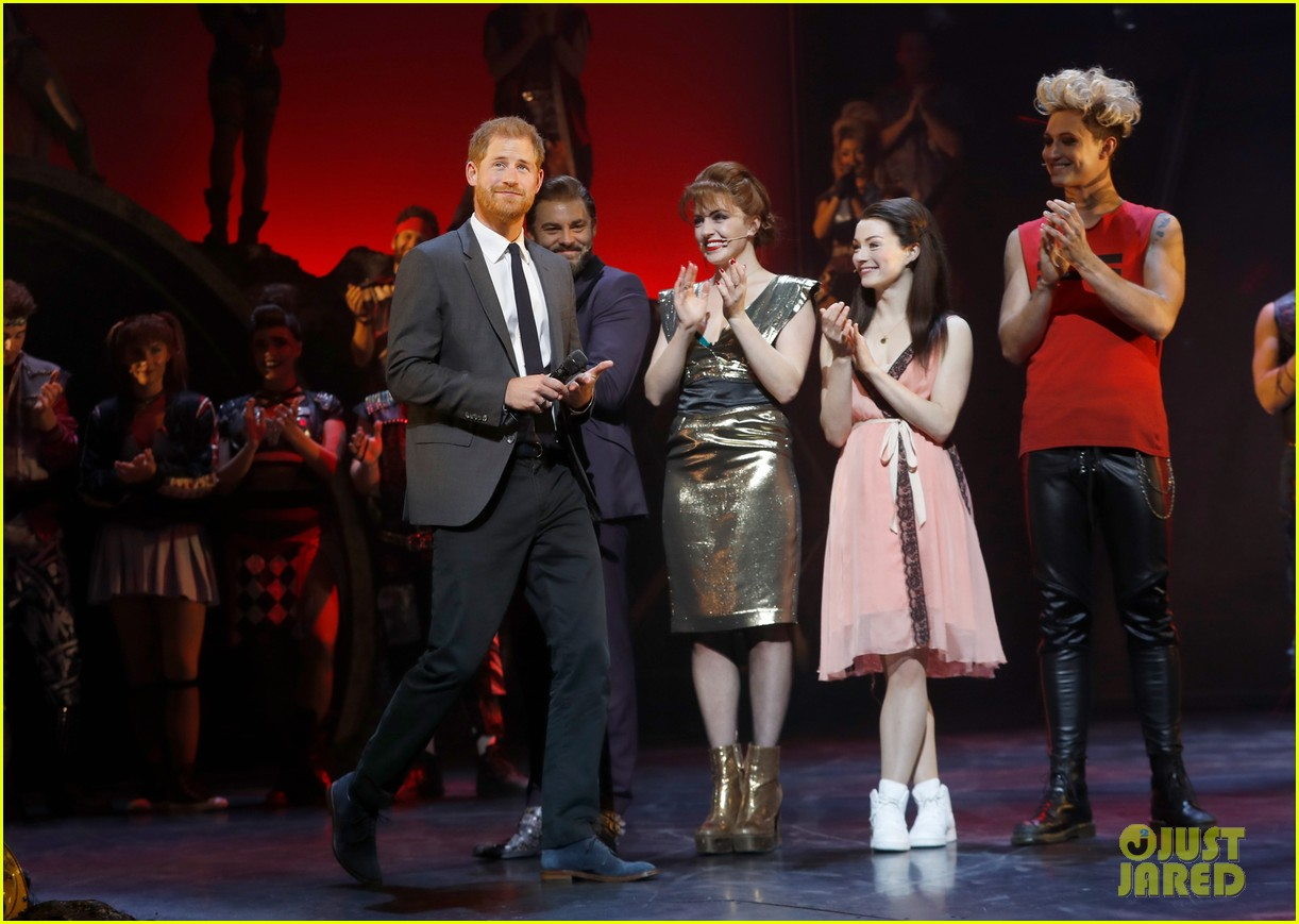 prince harry attends bat out of hell musical performance in london 044194663