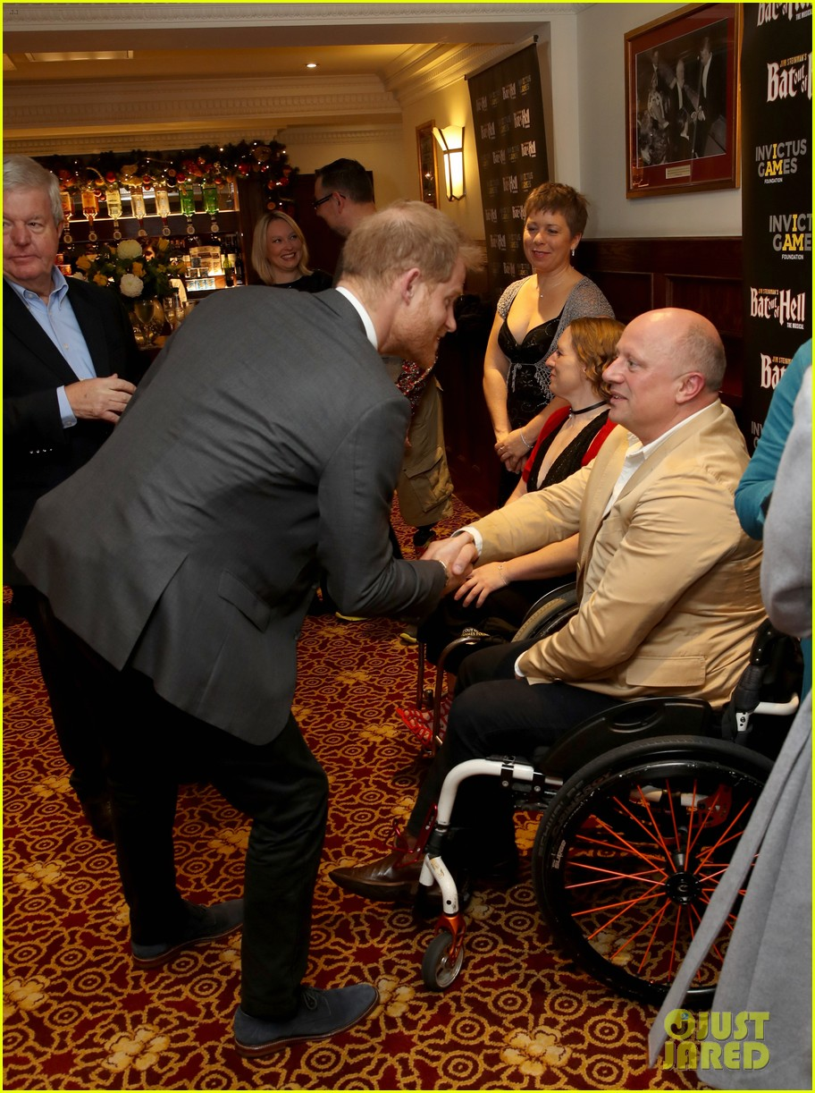 prince harry attends bat out of hell musical performance in london 054194664