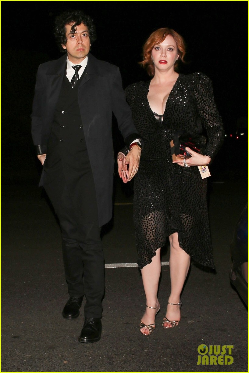 christina hendricks james van der beek jennifer klein party 144192250