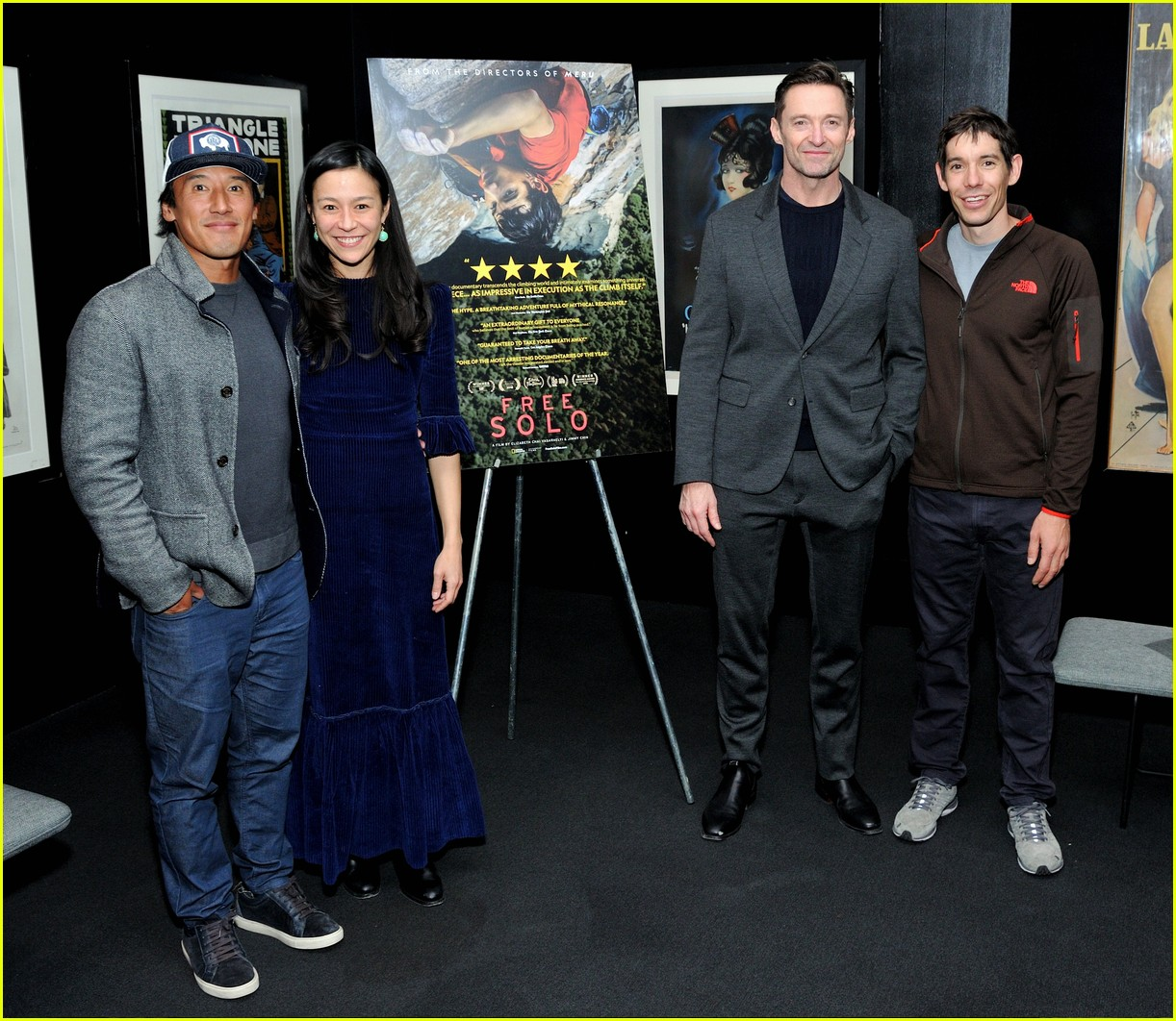 hugh jackman hosts special screening of free solo in nyc 014194626