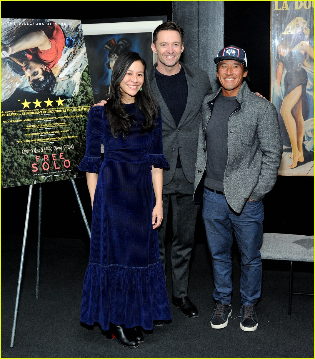 hugh jackman hosts special screening of free solo in nyc 034194628