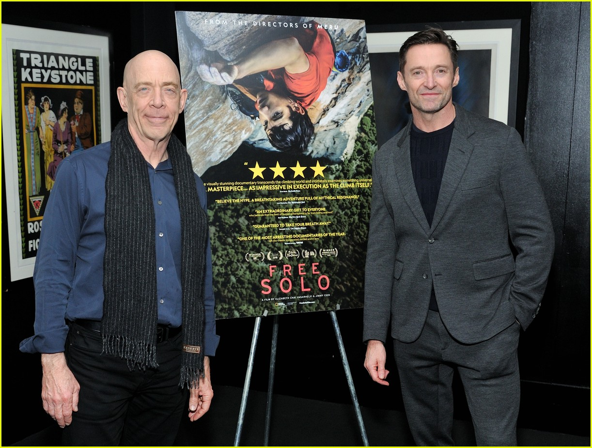 hugh jackman hosts special screening of free solo in nyc 054194630