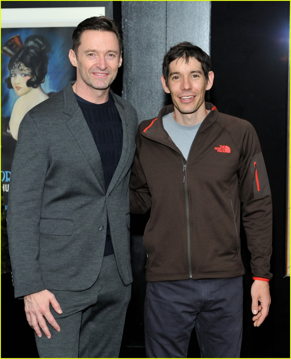 hugh jackman hosts special screening of free solo in nyc 114194636