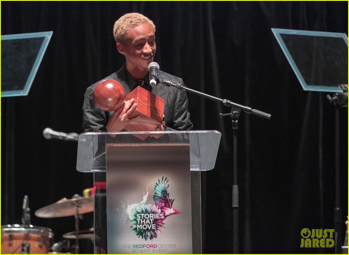 jaden smith receives the inaugural robert redford award 12