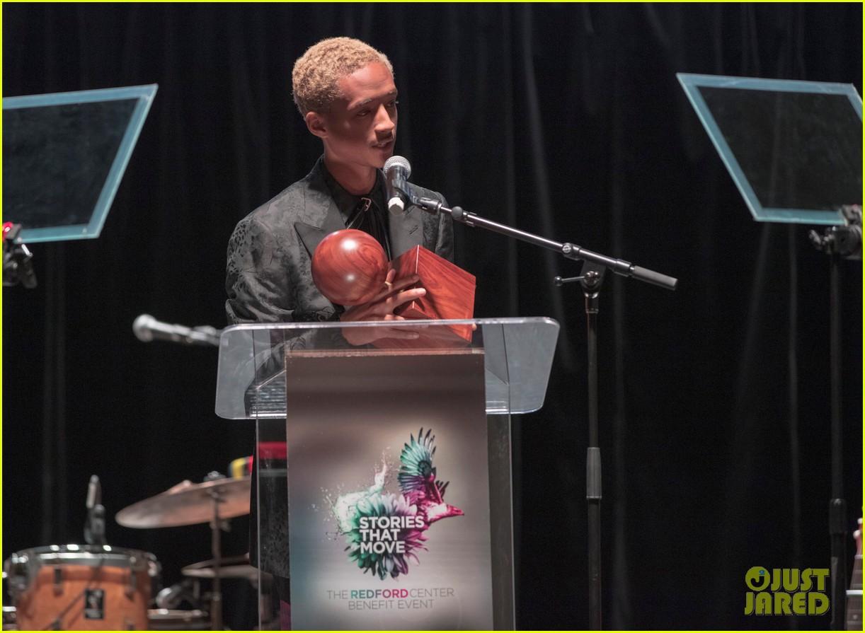 jaden smith receives the inaugural robert redford award 13