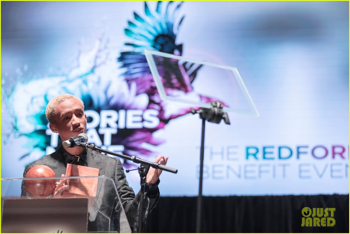 jaden smith receives the inaugural robert redford award 14