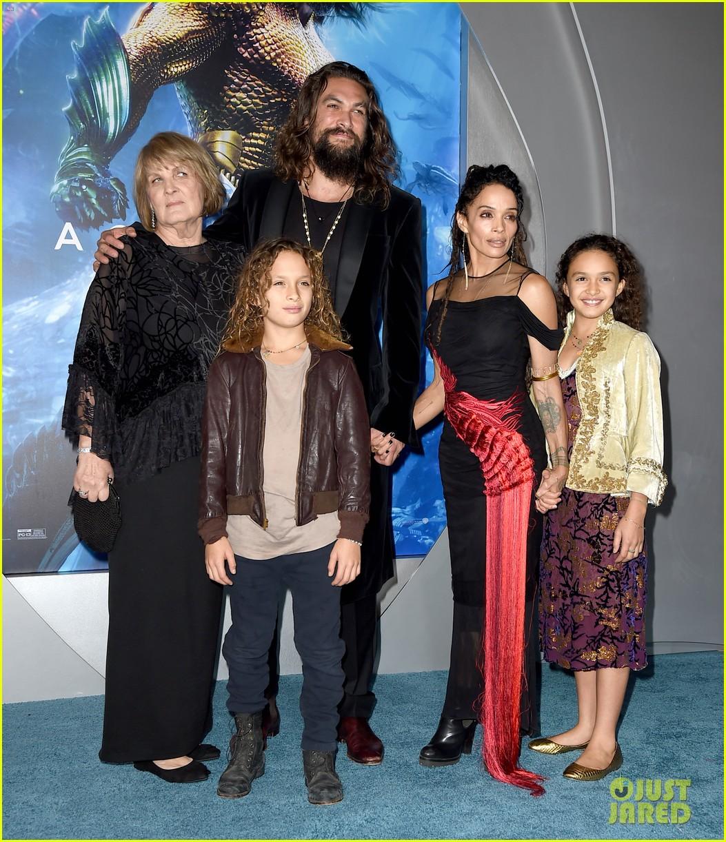Jason Momoa Gets Support From Wife Lisa Bonet, Mom & Kids
