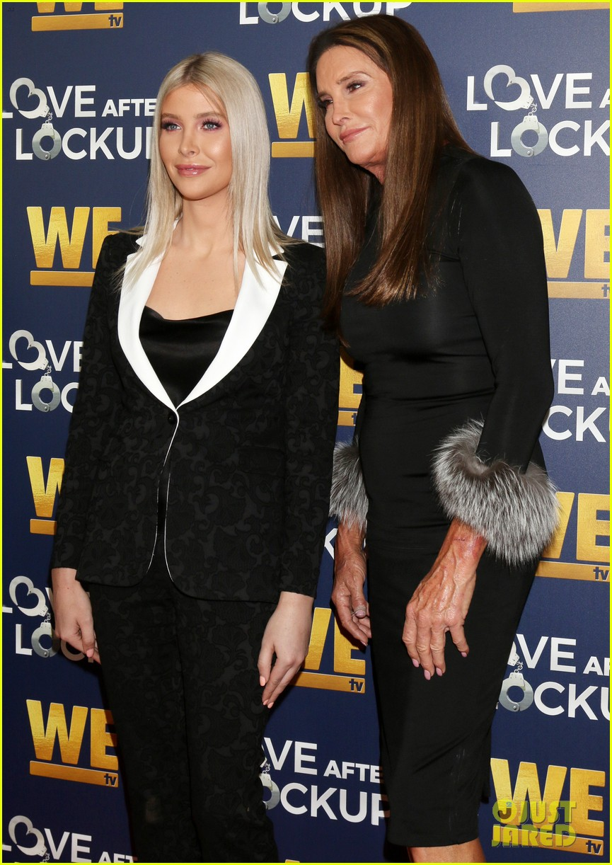 caitlyn jenner gets support from sophia hutchins at love after lockup return celebration 054197565