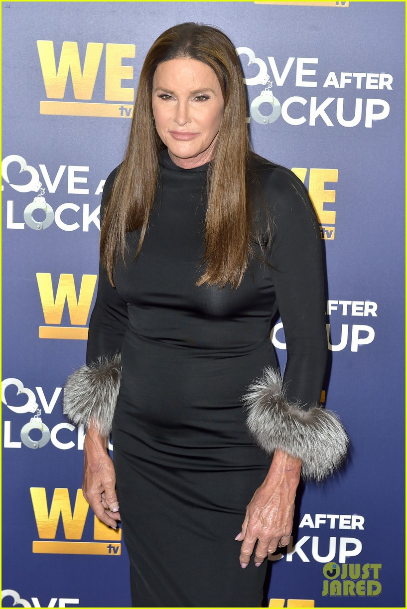 caitlyn jenner gets support from sophia hutchins at love after lockup return celebration 354197595