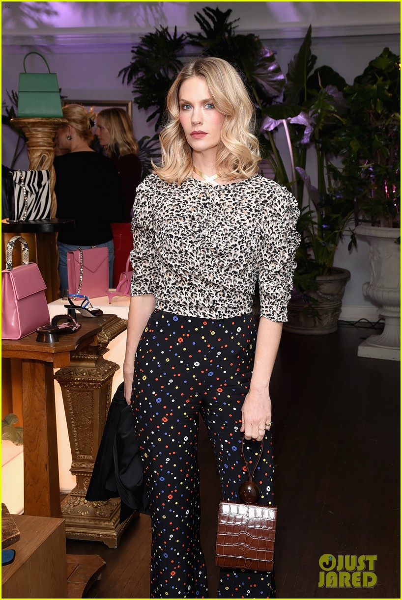 january jones jaime king more get festive at by far party 11