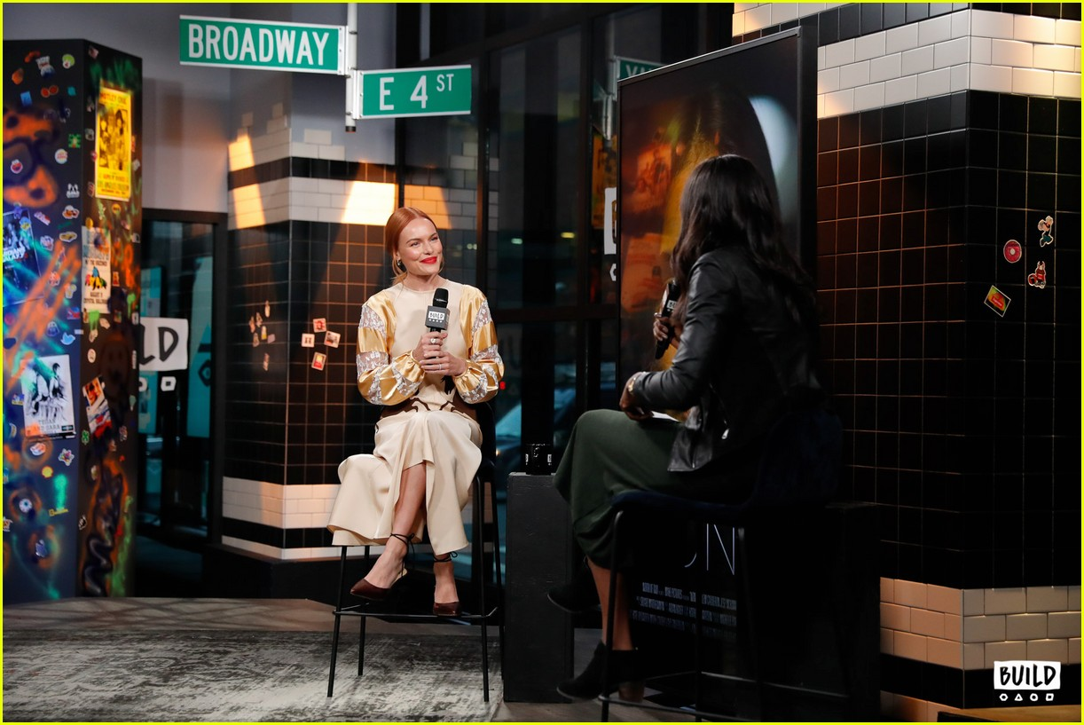 kate bosworth stops by build 10