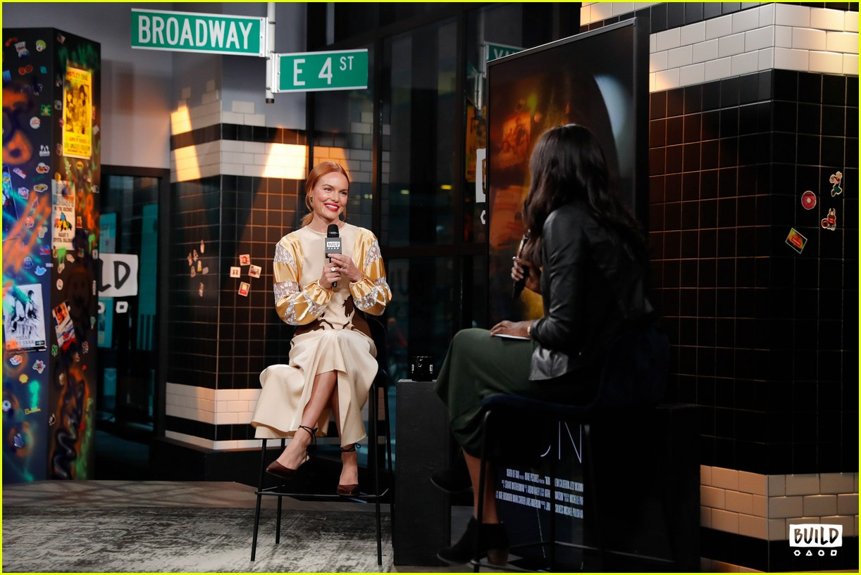 kate bosworth stops by build 11