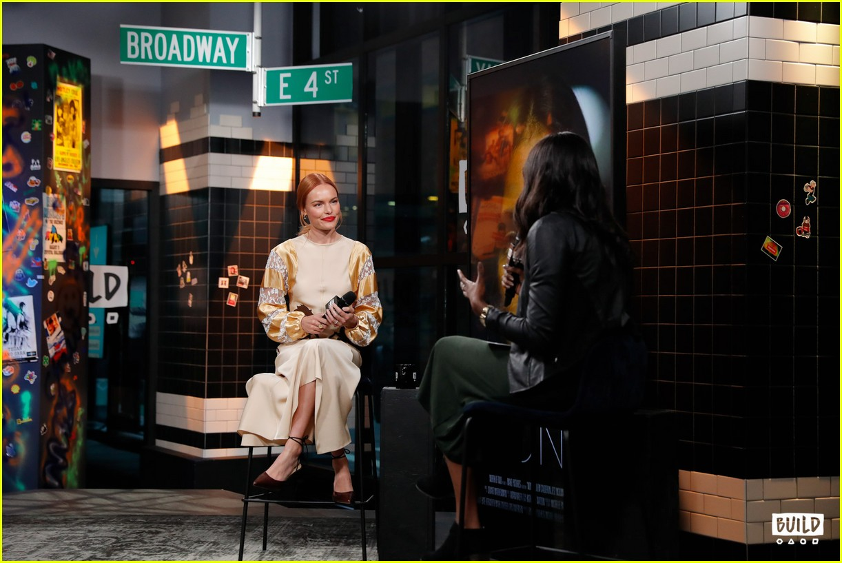 kate bosworth stops by build 12