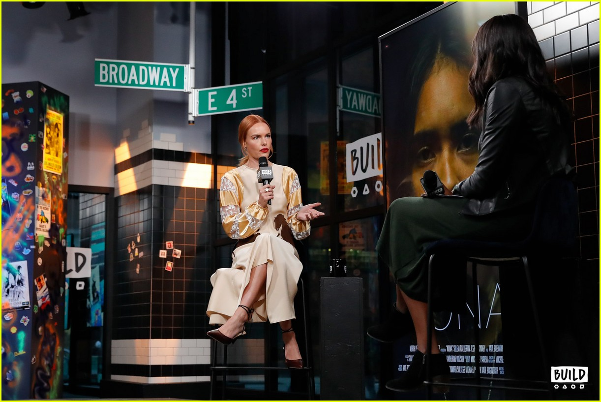 kate bosworth stops by build 13