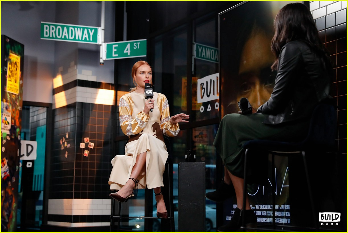 kate bosworth stops by build 14