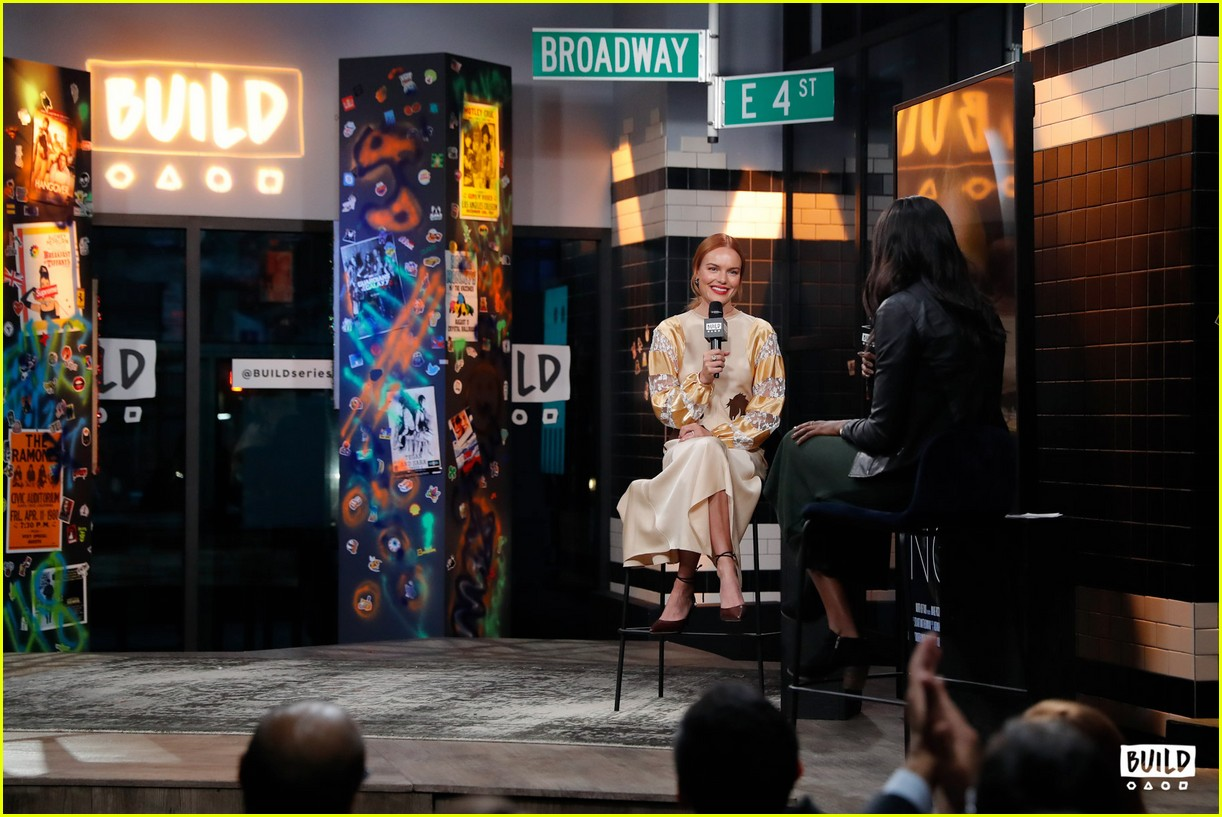 kate bosworth stops by build 20
