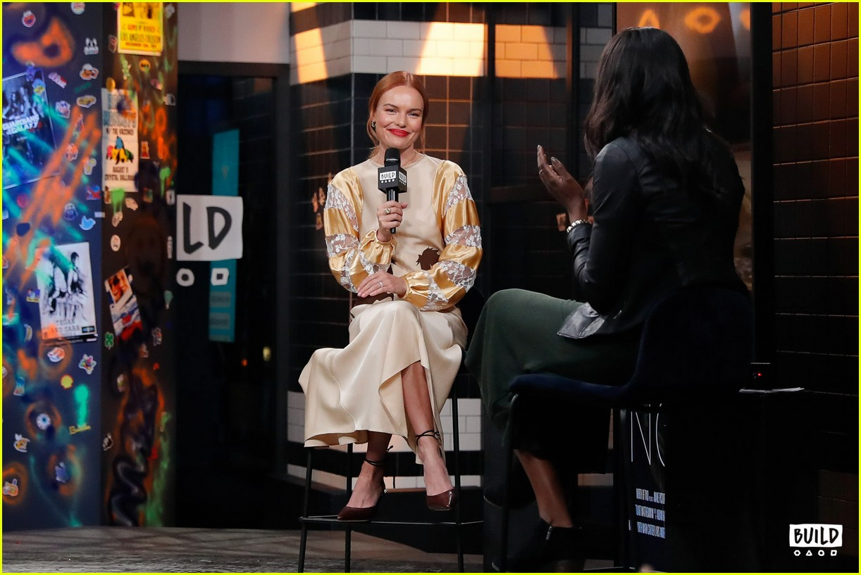 kate bosworth stops by build 21