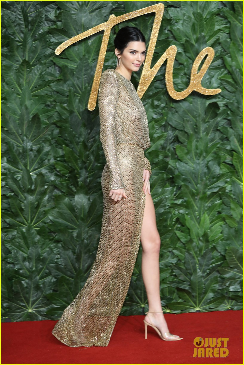 Kendall Jenner just wore the most naked naked dress weve