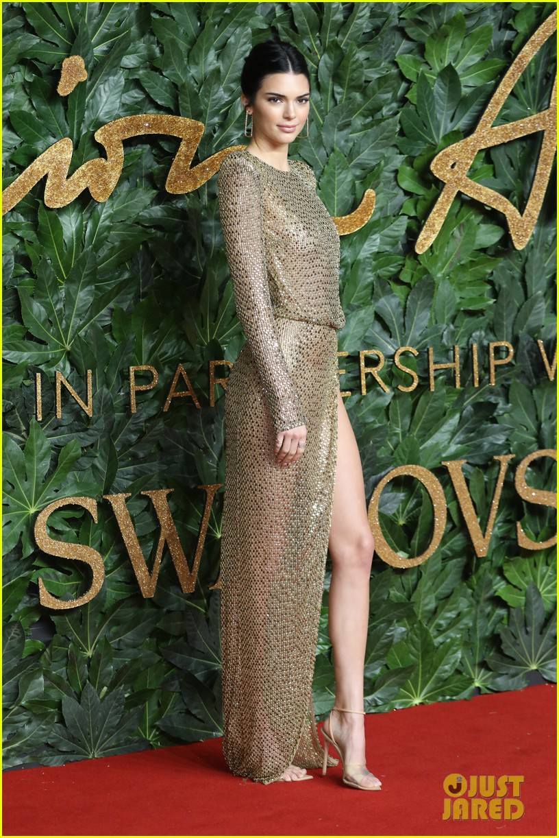 Kendall Jenner Just Wore a Completely Naked Dress to the