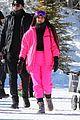 kim kardashian kendall jenner hit the slopes aspen 01