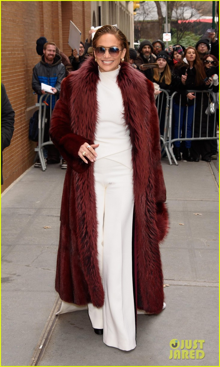 jennifer lopez switches up her outfits for second act promo in nyc 054198221
