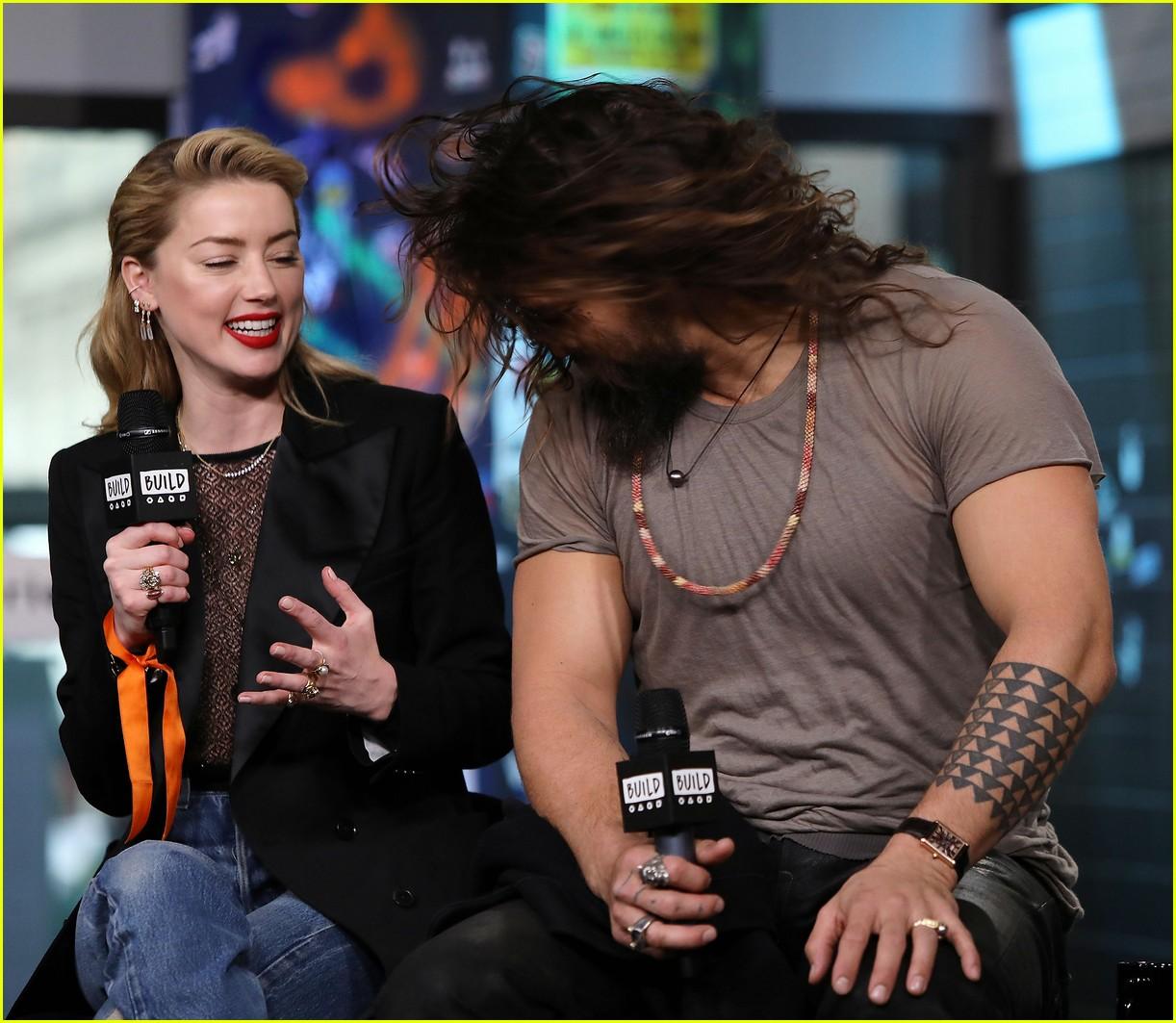 Amber Heard And Jason Momoa Photos Photos: Jason Momoa Originally Auditioned To Play Batman In DC