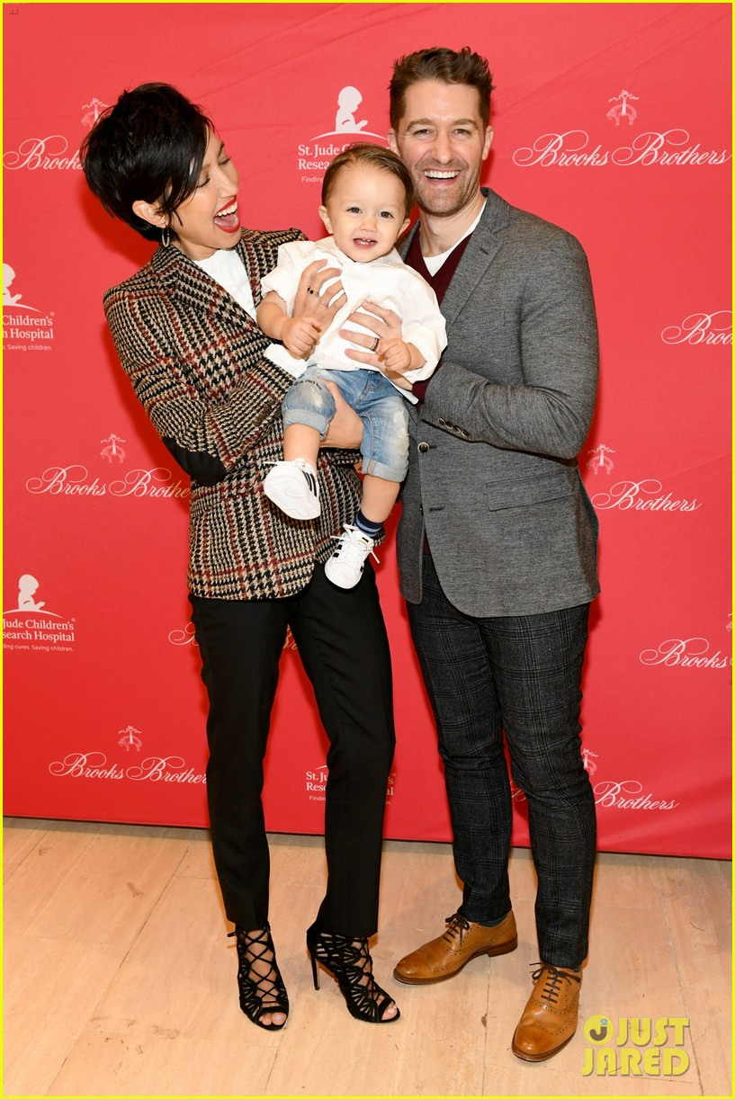 matthew morrison brooks brothers party 01