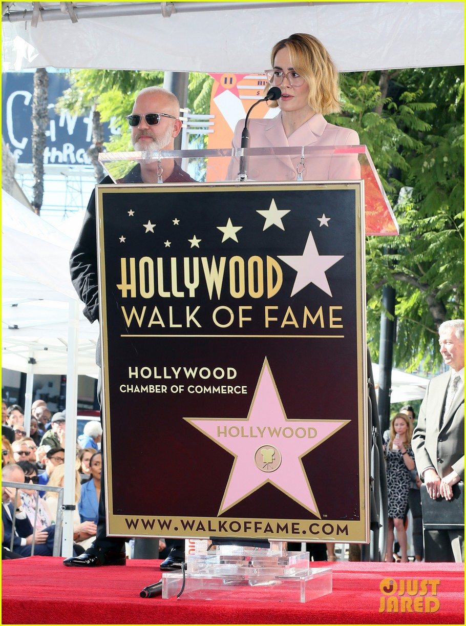 ryan murphy walk of fame ceremony 164193170