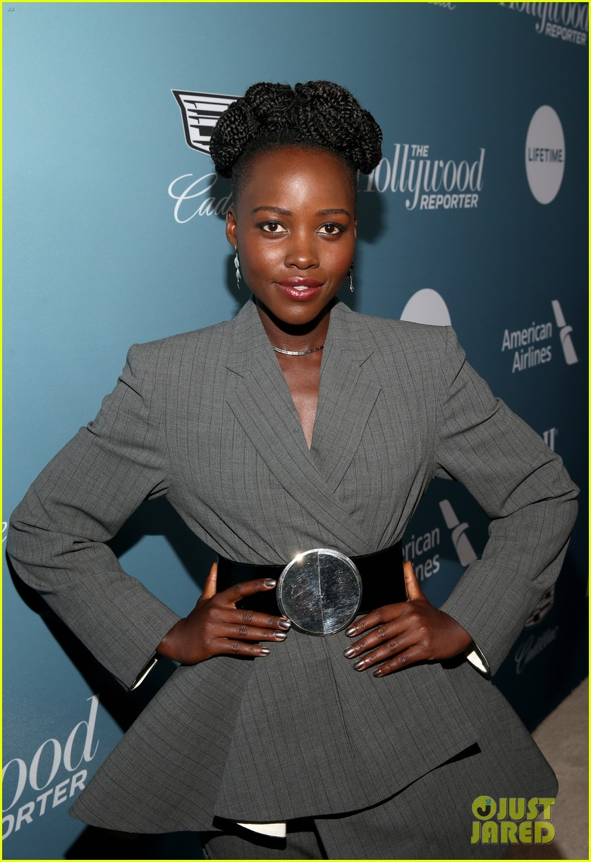 lupita nyongo black panther cast surprise student with scholarship at thrs power 100 05