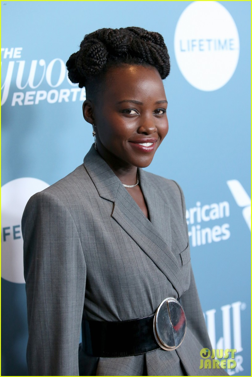 lupita nyongo black panther cast surprise student with scholarship at thrs power 100 10