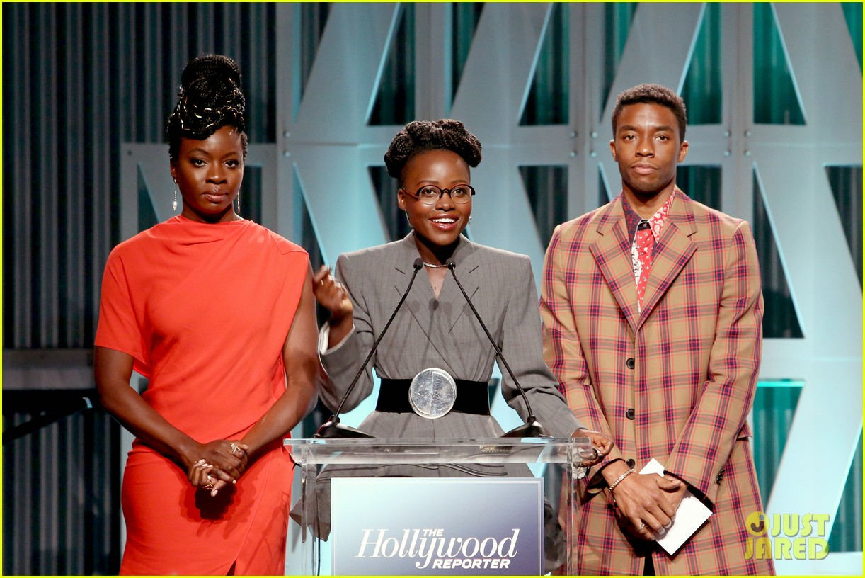 lupita nyongo black panther cast surprise student with scholarship at thrs power 100 21