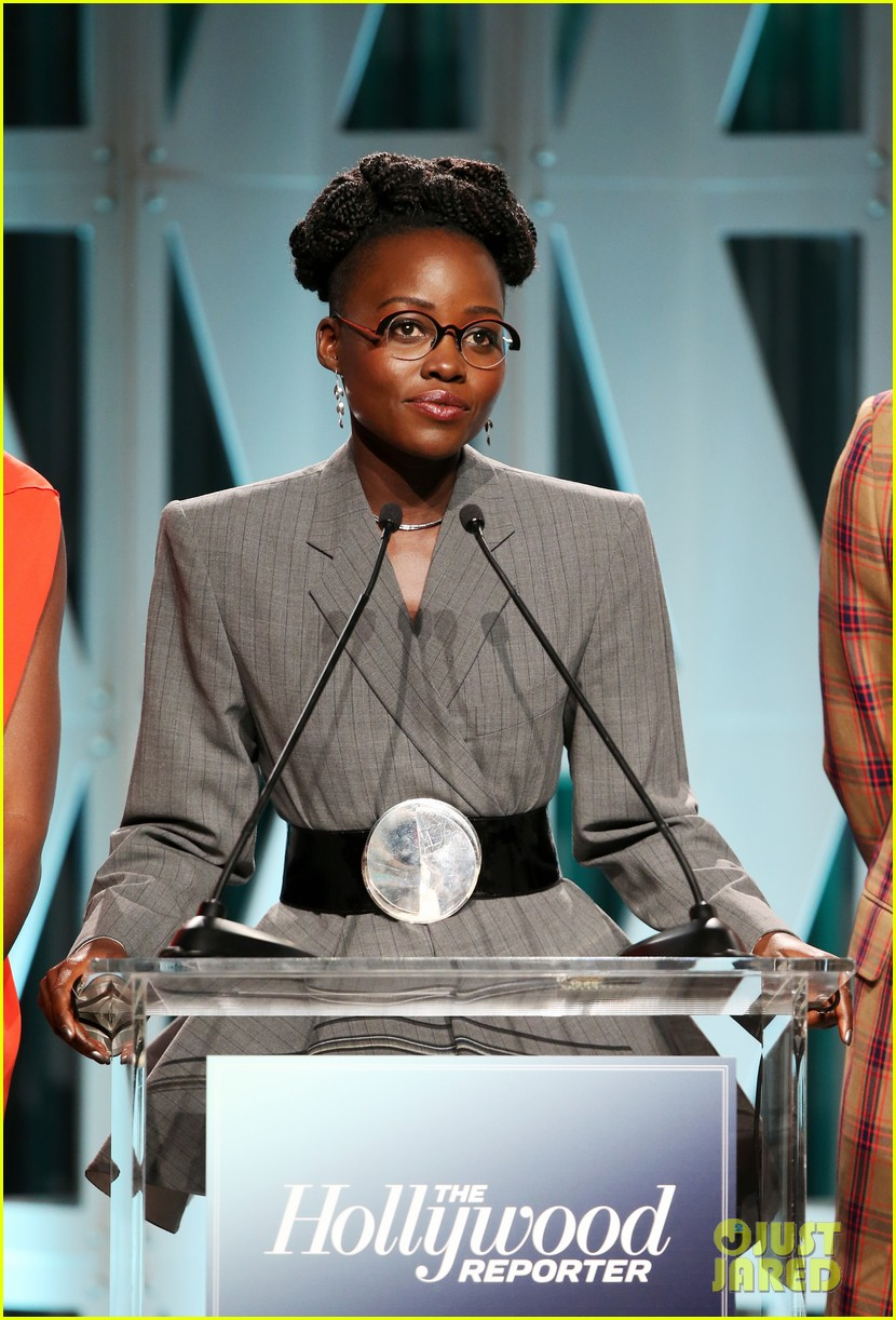 lupita nyongo black panther cast surprise student with scholarship at thrs power 100 22
