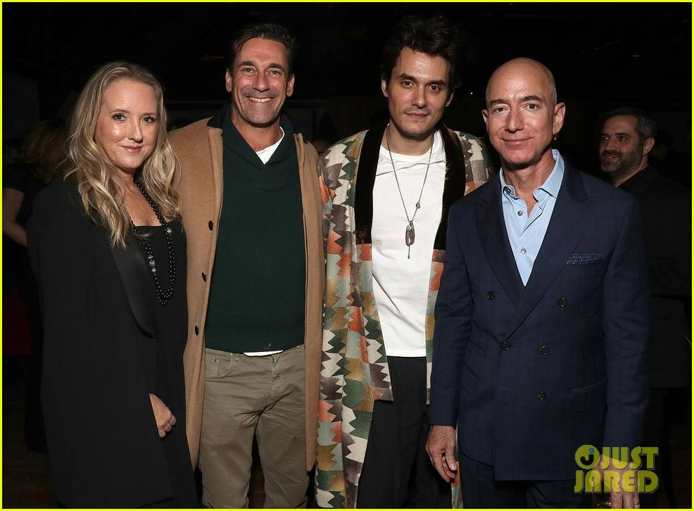brad pitt timothee chalamet katy perry more get festive at amazon studios holiday party 124191904