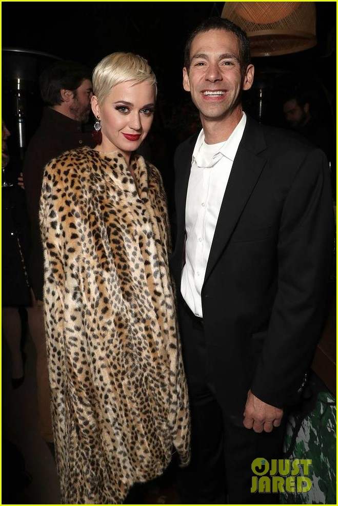 brad pitt timothee chalamet katy perry more get festive at amazon studios holiday party 184191910