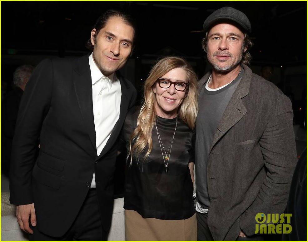 brad pitt timothee chalamet katy perry more get festive at amazon studios holiday party 224191914